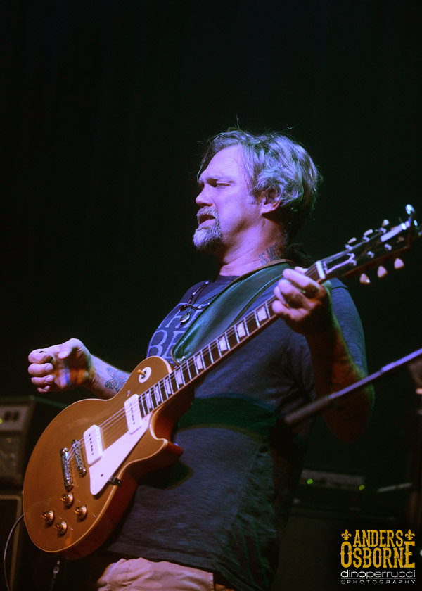 Anders Osborne of NMO Photo by Dino Perrucci http://dinoperrucciphotography.blogspot.com