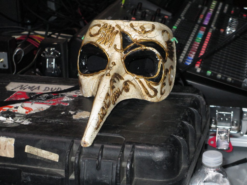 Cody Dickinson Plague Doctor Mask Photo by Mars Blomgren