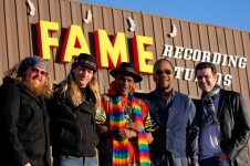 RSB outside FAME studio