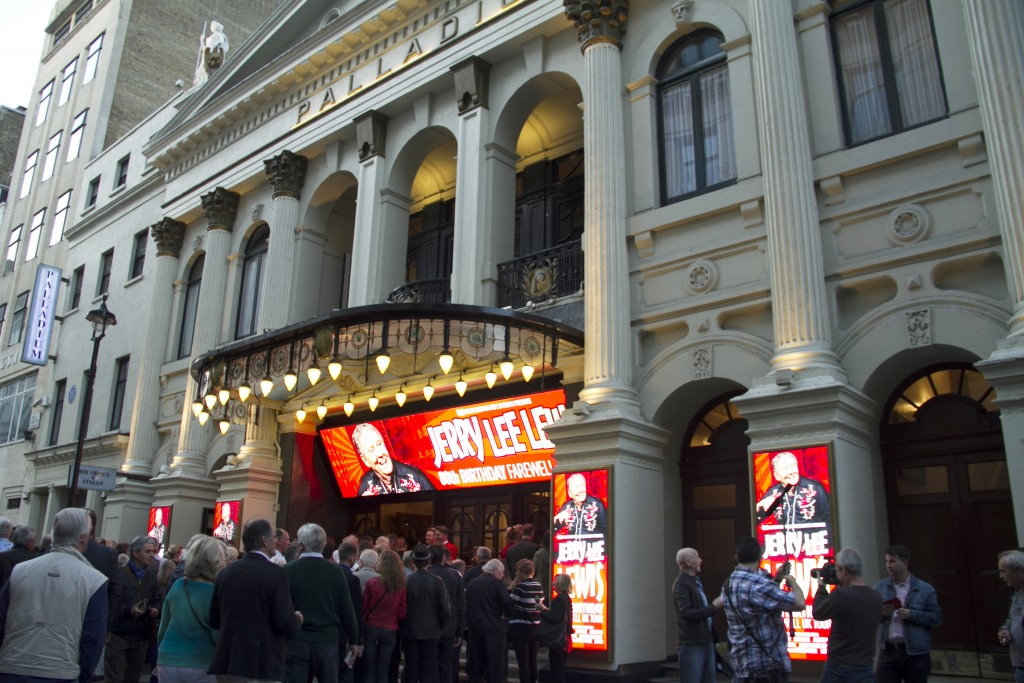 The London Palladium, exterior