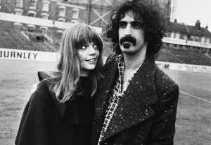 Frank and Gail Zappa