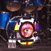 Woody Woodmansey's drum kit of Woody Woodmansey's Holy Holy at The Birchmere Alexandria, Virginia Photo by Carlos Aranaga