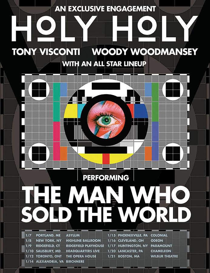 Woody Woodmansey's Holy Holy Winter 2016 Tour Schedule