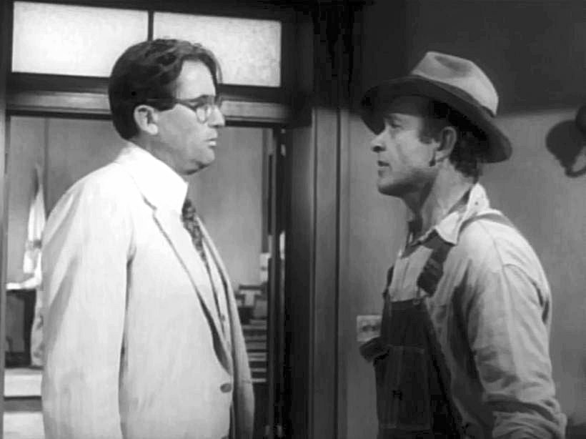 Still from To Kill a Mockingbird 1962 film